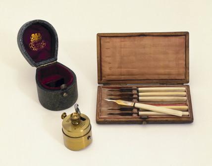 Vaccination kit, England, 19th century.