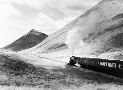 A K2 2-6-0 locomotive on the West Highland