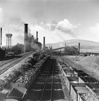 Millom Ironworks, Cumberland, November 1952
