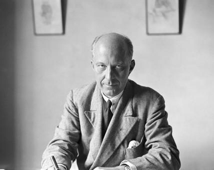 Hugh Dalton, British politician, c 1950s.