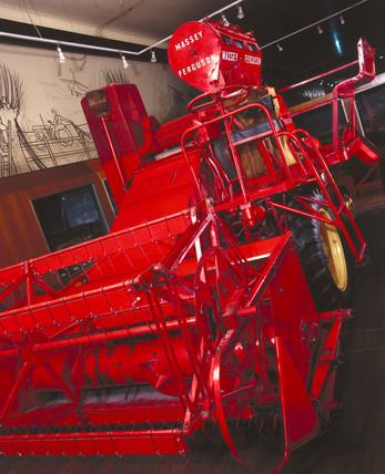 Masey-Ferguson type 780 combine harvester thresher, 1953-1962.