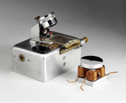 William McLellan's micromotor module, 1960.