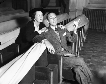 Noel Coward and Gertrude Lawrence, 17 September 1935.