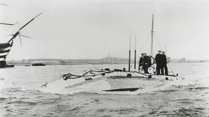 'Holland' clas submarine, 1901.