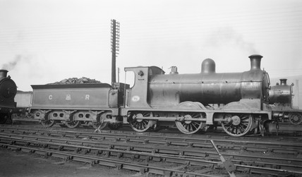 Caledonian Railway clas 812 0-6-0 steam locomotive, 9 June 1924.