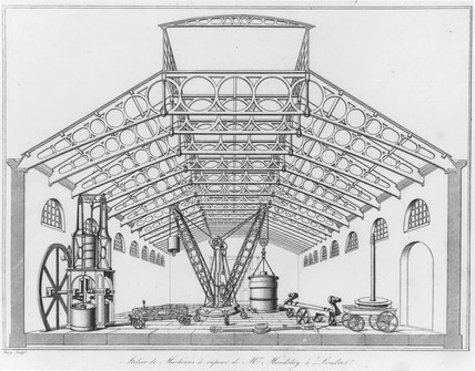 Selection of Maudslay's machine tools, 1834.