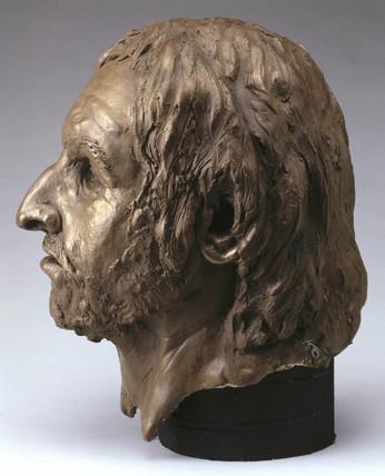 Bleadon Man's head, 1997.
