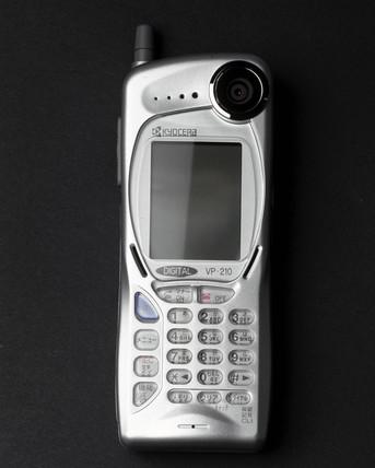 Kyocera visual phone VP-210, Japan, 1999.