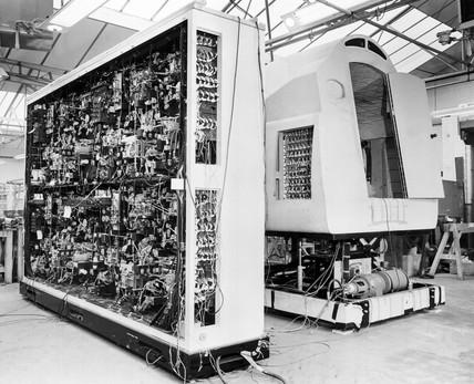 Viscount flight simulator under constructio