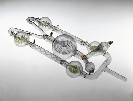 Geissler tube, 1855.