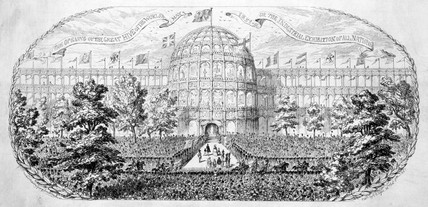 'The Opening of the Great Hive of the World', 1 May 1851.