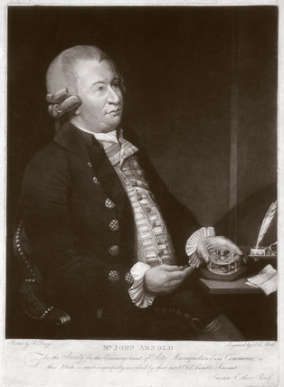 John Arnold, English horologist, c 1775.