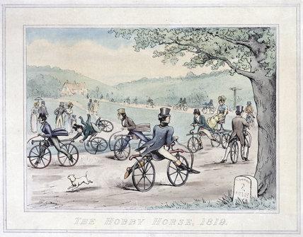 'The Hobby Horse 1819', 1894.