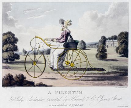 'A Pilentum', c 1820.