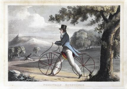 'Pedestrian Hobbyhorse', 1819.