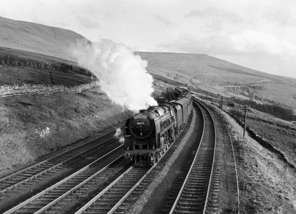 'Moray Firth' British Railways 4-6-2 steam locomotive No 70053, c 1957.