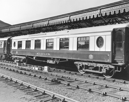 'Topaz' first clas Pullman coach, 1913. Th