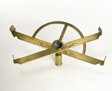 Graphometer-clinometer, c 1600.
