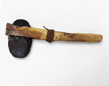 Stone-headed axe from Queensland, Western Australia, Prehistoric.