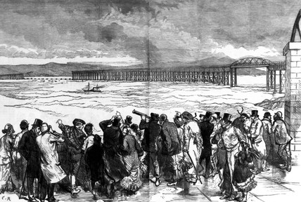 Tay Bridge disaster, Scotland, 29 December 1879.