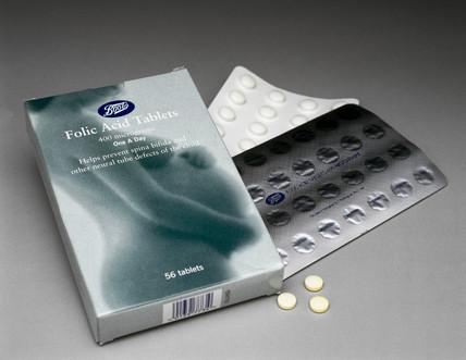 Folic acid tablets, 2000.