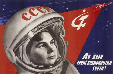 Valentina Vladimirovna Tereshkova, Russian cosmonaut, 1963.