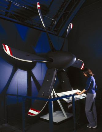 Dowty advanced propeller system, 2000.