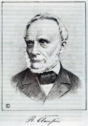 Rudolf Clausius, German theoretical physicist, 19th century.