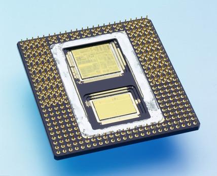 Intel Pentium Pro microprocesor, 1995.