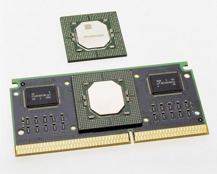 Intel Pentium II package, 1997.