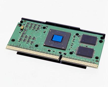 Intel Pentium III package, 1999.