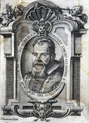 Galileo Galilei, Italian astronomer and physicist, 1623.