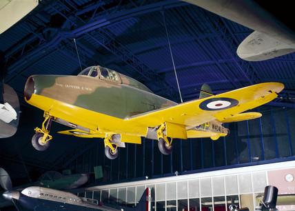 Gloster-Whittle E28/39 jet aeroplane, 1941.