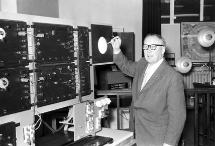 Sir Robert Alexander Watson-Watt, Scottish engineer, 1935.