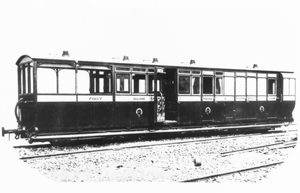 Brake Composite Saloon No 2, of the Lynton