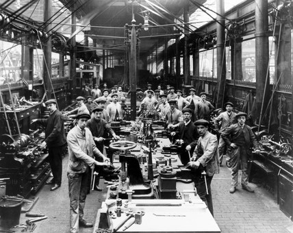 Gateshead Works, Tyne & Wear, c.1908.