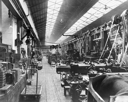 Gateshead Works, Tyne & Wear, c 1908. An em