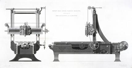 Whitworth's planing machine, patented 1839.