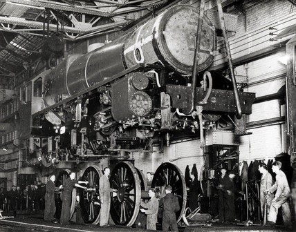 Crewe Works, 17 January 1946.