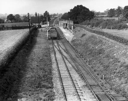 Cresing Station, Essex, c 1911. This stati