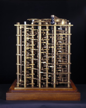 Babbage's Difference Engine No 1, 1824-1832.
