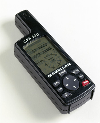 Magellan 'GPS 300' receiver, 2000.