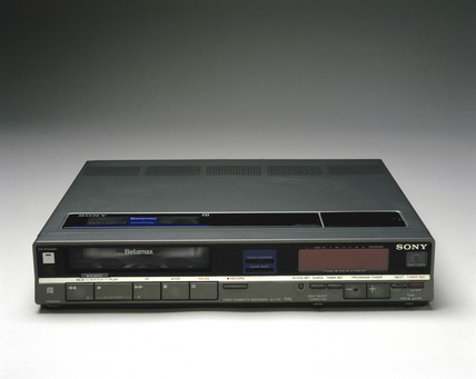 Sony Beta SL-F30UB video casette recorder, 1985.
