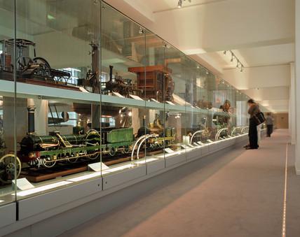 View of model walkway, Science Museum, London, July 2000.