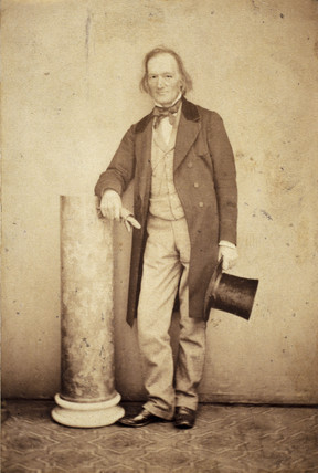 Sir Richard Owen, English naturalist and paleontologist, c 1860s.