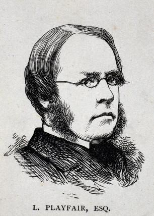 Lyon Playfair, Baron St Andrews, Scottish chemist and politician, c 1870.