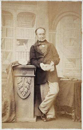 Sir Roderick Impey Murchison, Scottish geologist, c 1860.