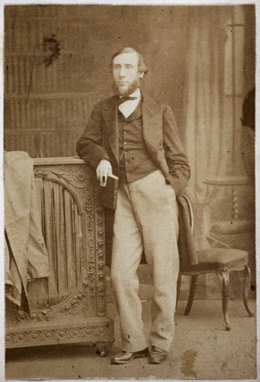 John Tyndall, Irish physicist, c 1860.