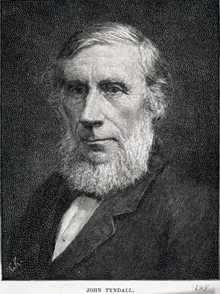 John Tyndall, Irish physicist, c 1880s.