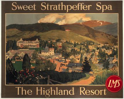 'Sweet Strathpeffer, the Highland resort',